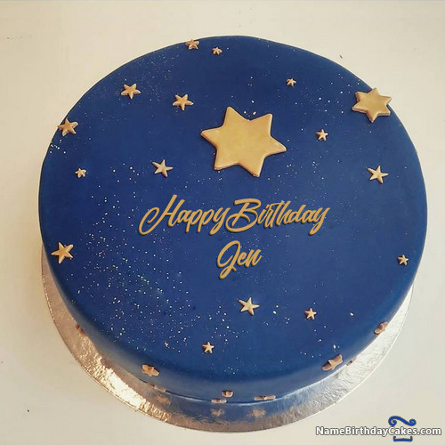 Happy Birthday Jen Cakes Cards Wishes