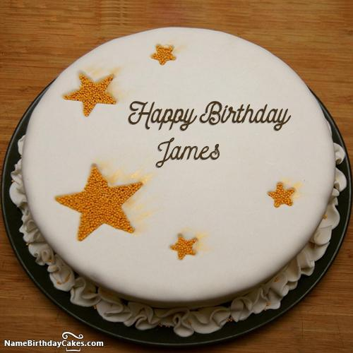 Birthday Cake Happy Birthday James Cake