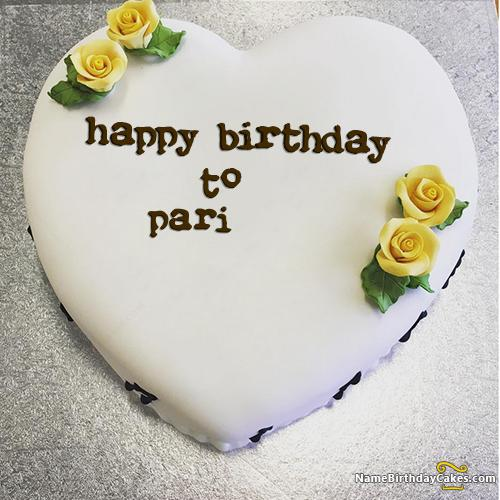 Happy Birthday Pari Cake Images Download Share