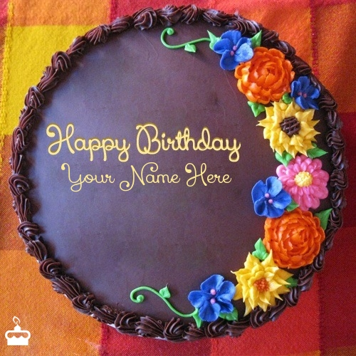 Birthday Cake With Photo And Name Edit The Best Cake Of 2018
