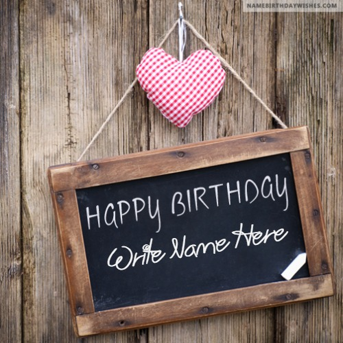 Lovely Happy Birthday Wishes For Friends With Name