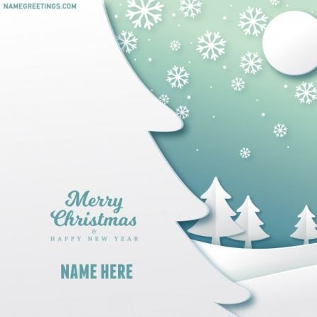 send christmas wishes with name