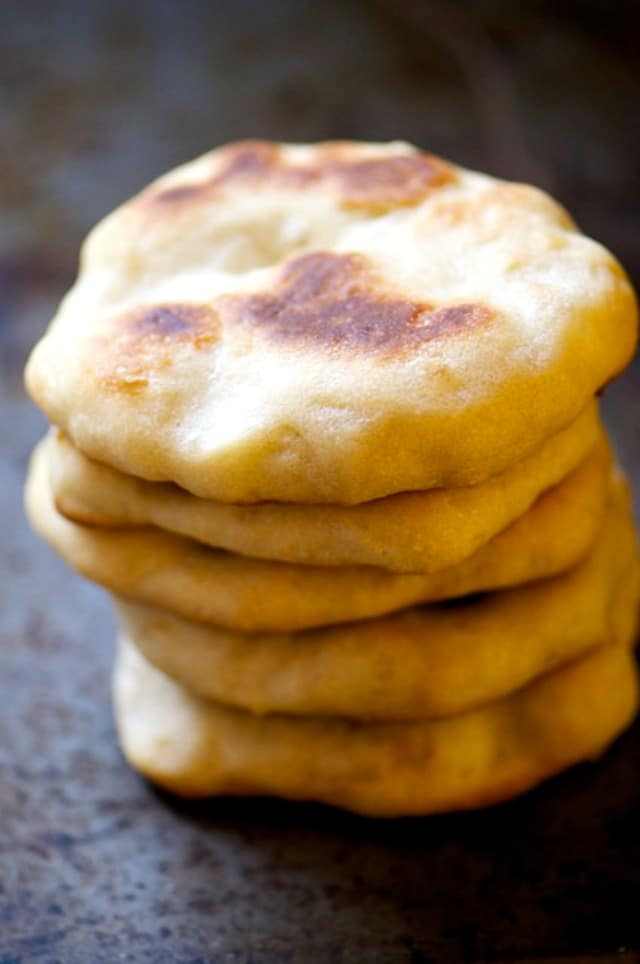 Oven-Baked Naan Bread - Namely Marly