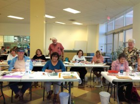 Good Sam Academy class with Pete and Pam Boorum.