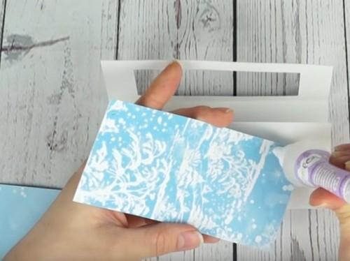 کارت پستال جلد برای سال جدید 2021 خودتان را انجام دهید: عکس گام به گام، ویدئو، طرح ها