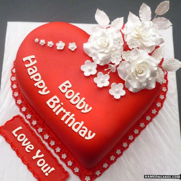 Happy Birthday Bobby Cake Images
