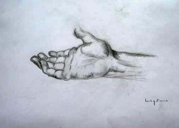 study of hand 3