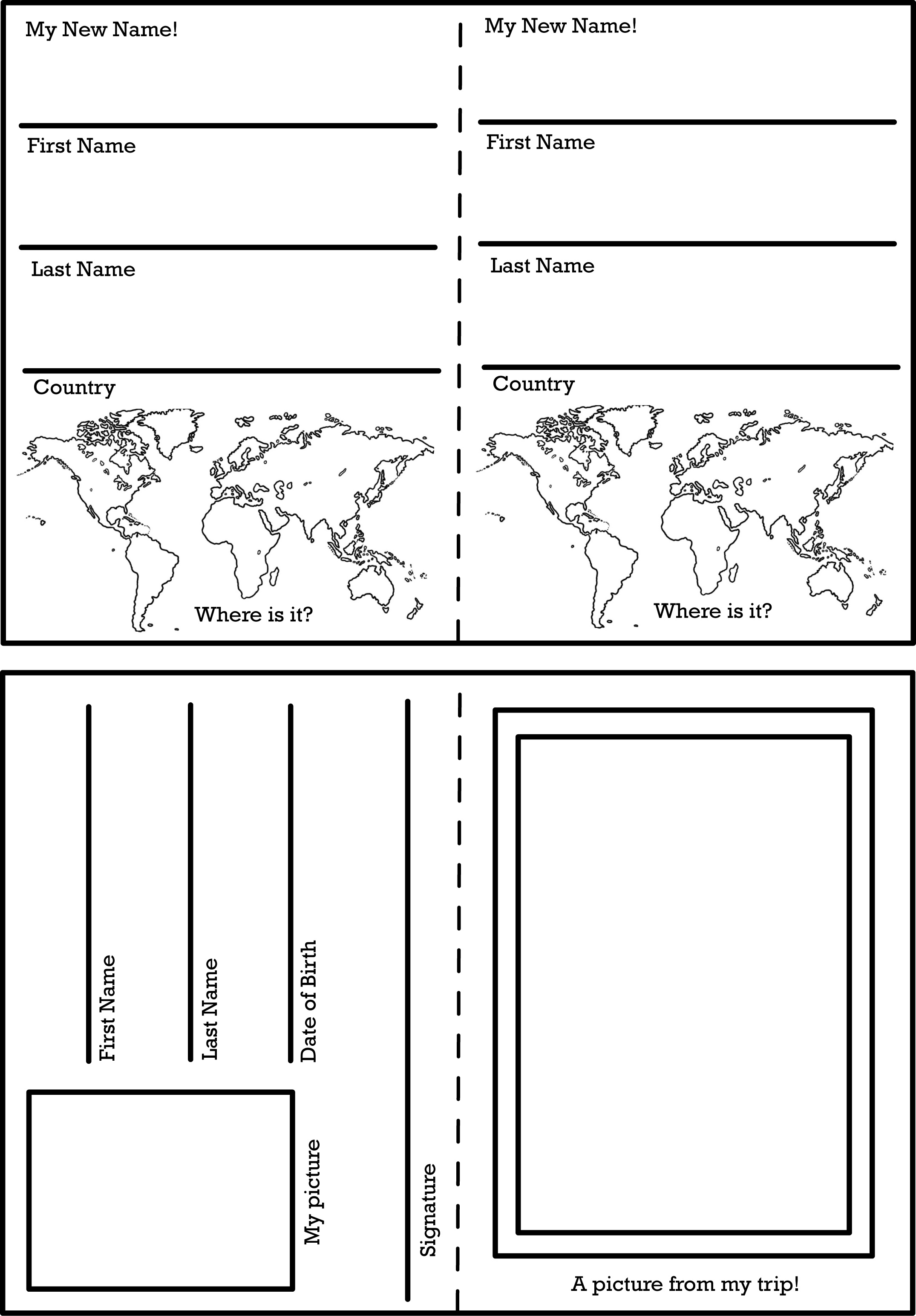 Activity Worksheets And Printables