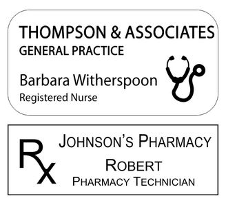 name tag wizard custom medical name tags for doctors hospitals and clinics