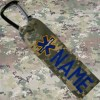 star of life luggage gear tag from Name Tape Factory in Tomah, WI