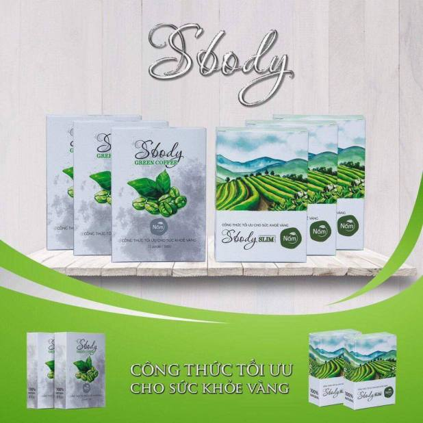 Nấm Sbody Slim - Sbody Green Coffee Giảm Cân Công Nghệ Nhật Của Công Ty Hoài Thương Organic