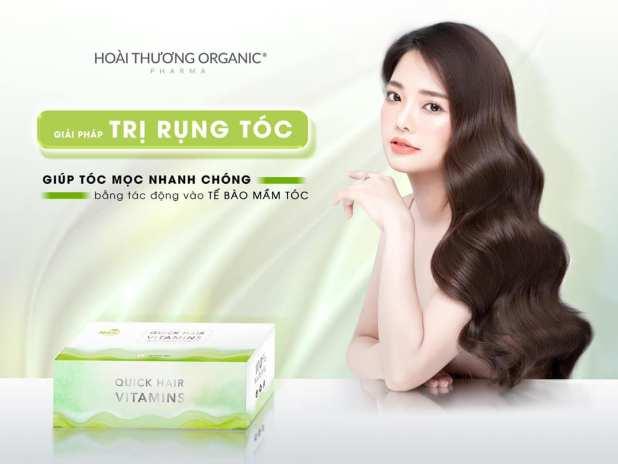 Bộ sản phẩm trị rụng tóc Quick hair Vitamins