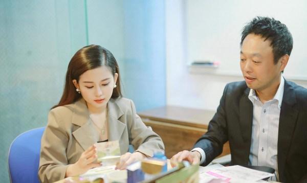 CEO Nguyễn Vũ Hoài Thương và chuyên gia dinh dưỡng Nhật Bản