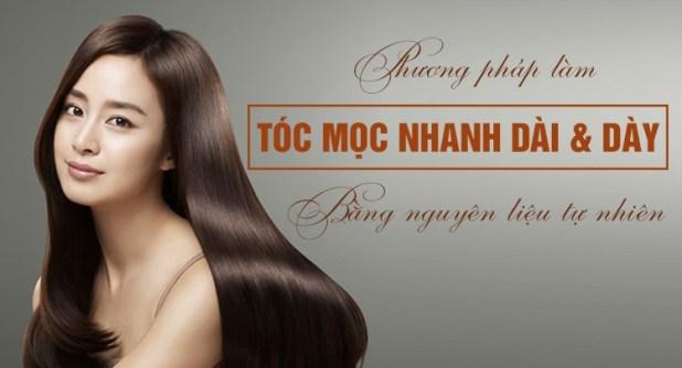 Làm sao để tóc nhanh dài và dày hơn bằng nguyên liệu tự nhiên