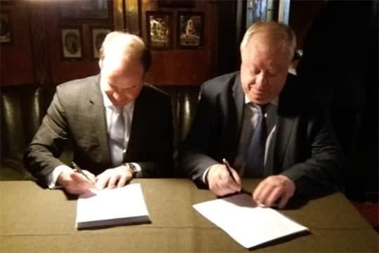 Германия и Россия подписали Меморандум о взаимопонимании