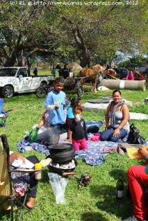 It's National Braai Day after all, and families are enjoying a picnic in the spring sunshine