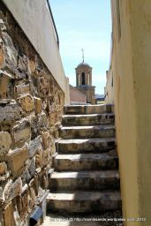 Old stone walls and steps - this is such a historic building