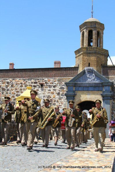 The SA Army Band Kroonstad, led by Staff Sergeant Johan Labuschagne