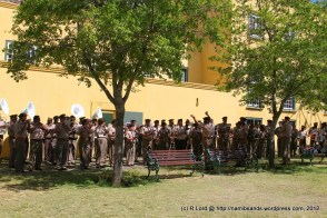The SA Army Bands of Cape Town and Kroonstad and the SAMHS band combine forces
