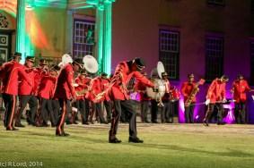 SA Army Band Kroonstad - the zombie walk!