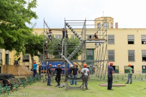 Building a staircase up the tower