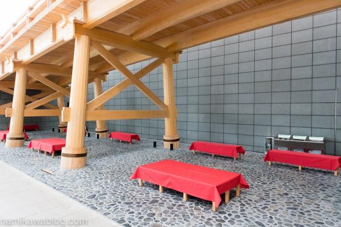 羽田空港国際線ターミナルはねだ日本橋の下