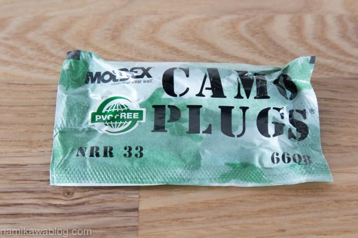 MOLDEX(モルデックス)#6608 Camoplugs(カモプラグ)パッケージ