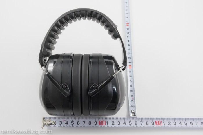 Patech 防音イヤーマフ・大きさ測定