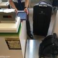 春秋航空日本(SPRING JAPAN)チェックインカウンターでの重量測定
