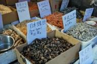 Cosas raras secas / Weird dried stuff. Barrio chino / Chinatown.