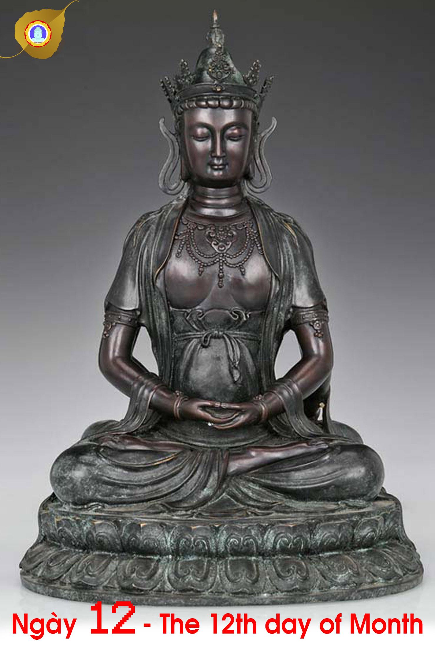 Duyên nhật ngày 12: Nan Thắng Phật – Unconquerable Buddha