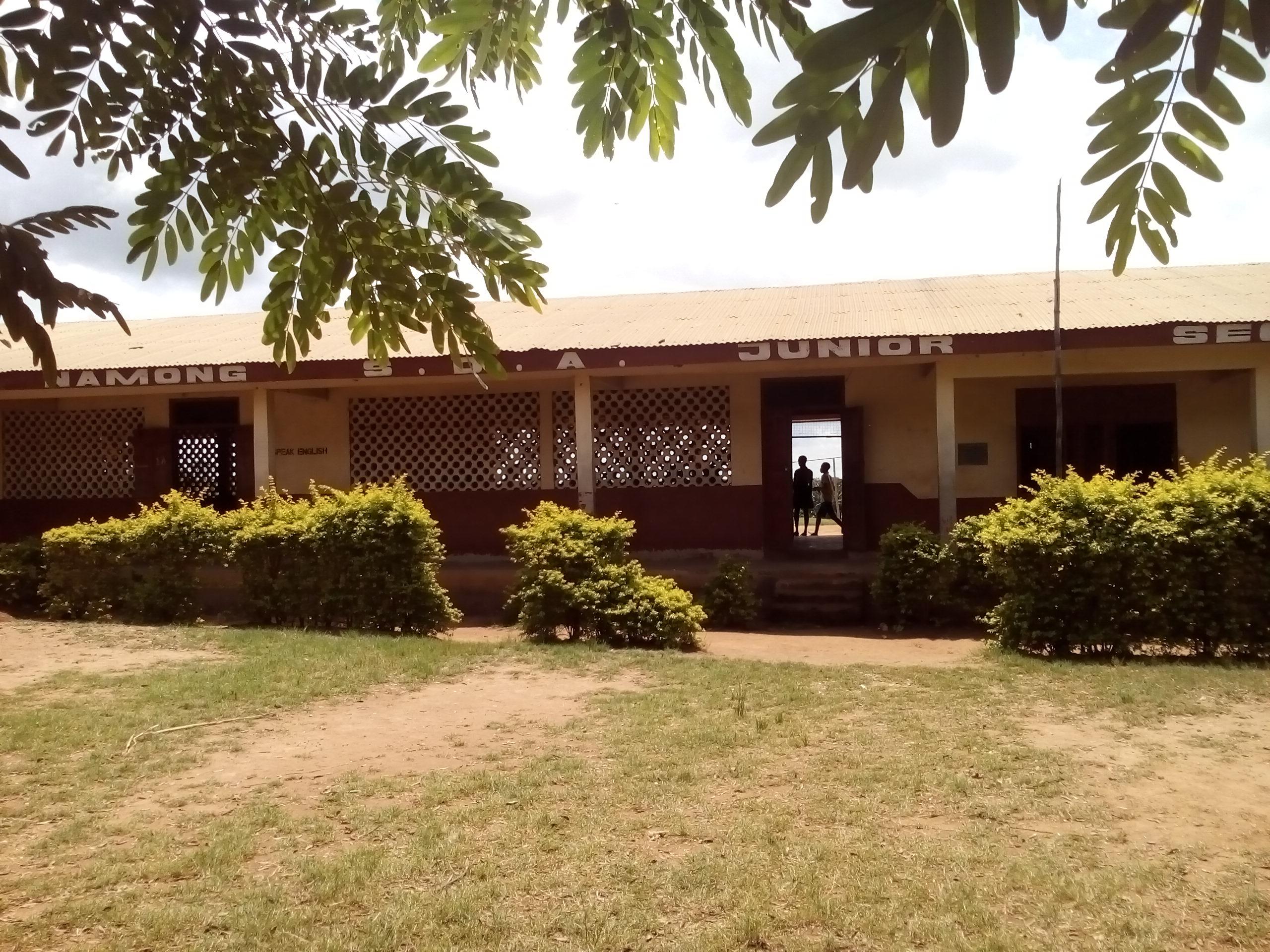 School Compound Namong Sda Junior High School