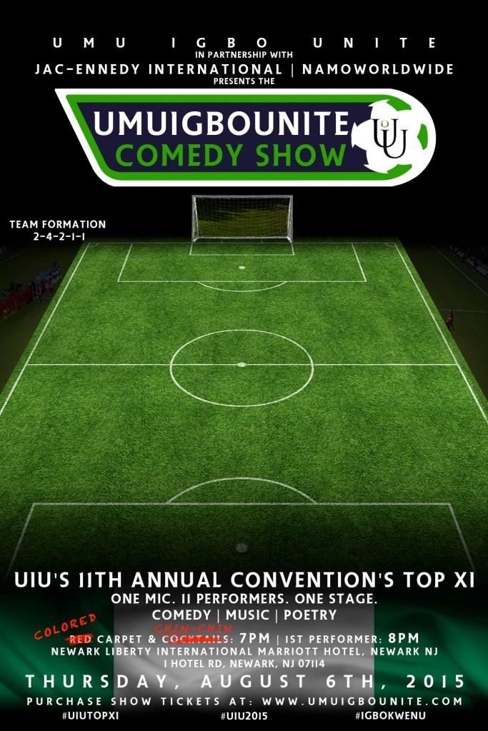 2015 UIU Comedy Show Formation