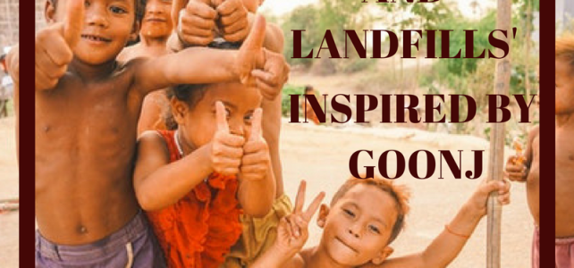 Keepsakes and Landfills: Inspired by Goonj #AtoZChallenge #BlogchatterA2Z #NaPoWriMo