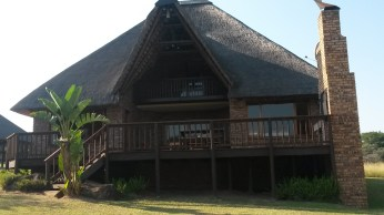 Our chalet at the Kruger Park Lodge