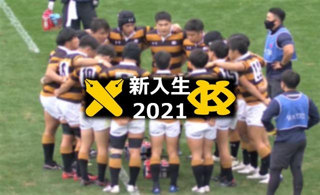 【新入部員2021】慶應義塾大学ラグビー部 ポジション別注目選手