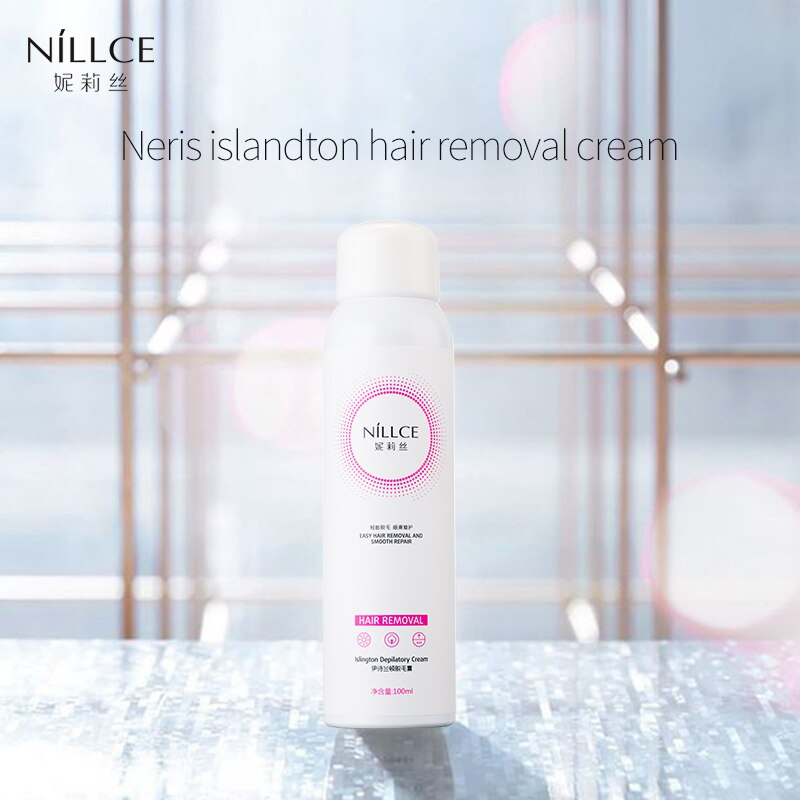 Nillce Hair Removal Cream Painless Away Depilatory Bubble Wax Body