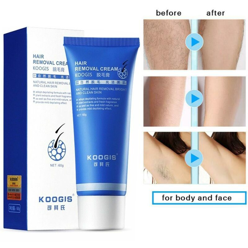 Natural Painless Permanent Fast Whole Body Hair Removal Cream Leg