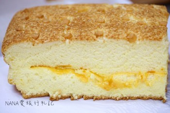 彰化市》有間本舖古早味蛋糕。最愛黃金起司口味,金黃起司緩緩流出!每日新鮮手作出爐,晚來就明天請早!