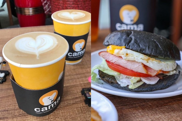 Cama彰化站前店。百元有找!平價喝新鮮現烘咖啡,還有輕食蛋糕早午餐