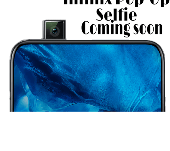Infinix first ever pop-up selfie camera phone set to be released in 2020 3