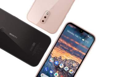 Nokia 4.2 starts receiving Android 10 update with March security patch