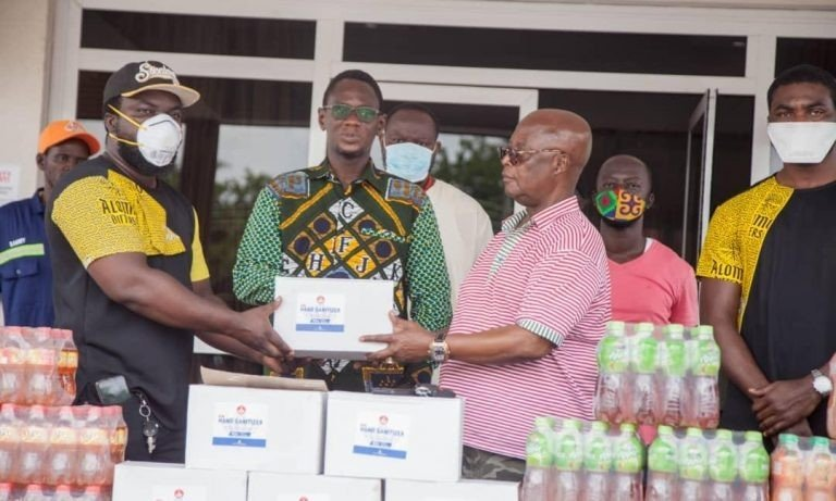 Kasapreko donation to Mahyia