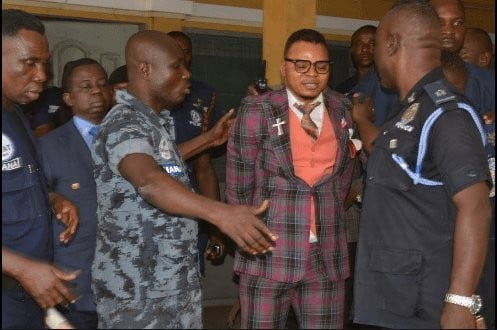 Breaking: Bishop Daniel Obinim arrested and charged by Ghana police 9