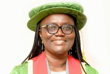 Mrs. Rita Akosua Dickson, newly appointed Vice-Chancellor of KNUST