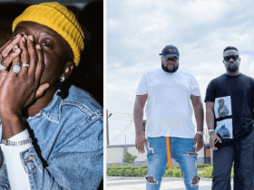 Stonebwoy punches Satkodie's manager, storms out of the virtual concert venue [Watch Video]