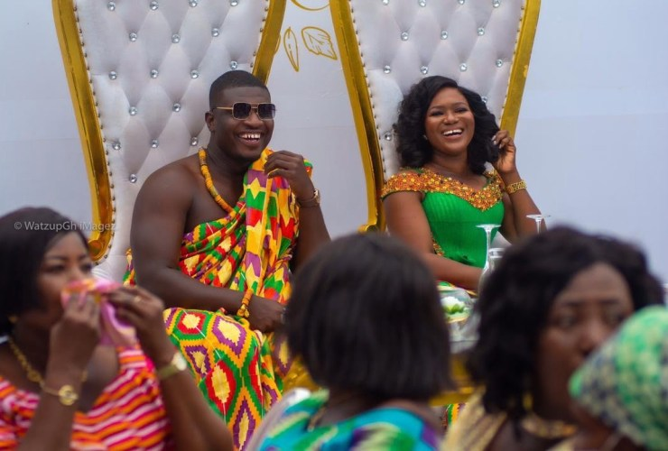 Watch: Lexis Bill marries girlfriend in a colourful traditional ceremony