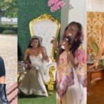 Wendy Shay gets married in private wedding ceremony? [Watch video]