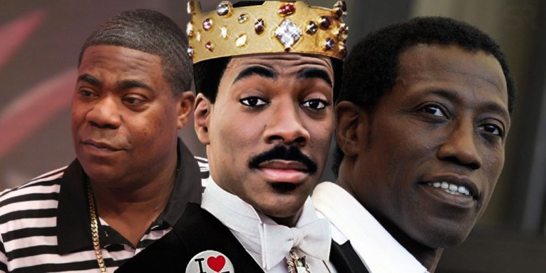 Wesley Snipes and Tracy Morgan talk 'Coming 2 America'
