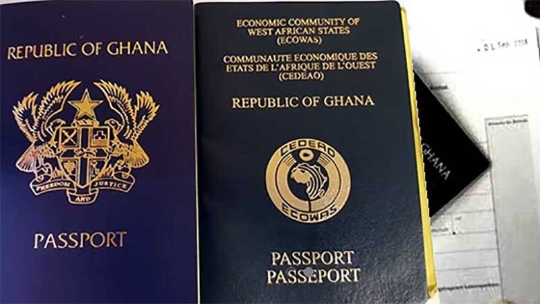 Ghana ranks 77th in world's most powerful passports Index